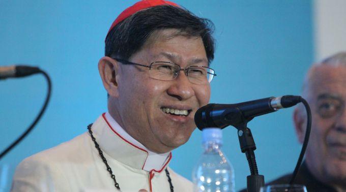 Cardenal relata emotivo almuerzo de Papa Francisco con sobrevivientes de tifón Yolanda