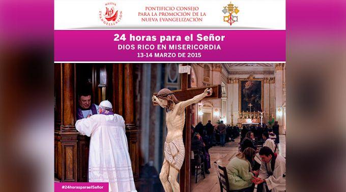 """Papa Francisco convoca a jornada de oración y confesiones """"24 horas para el Señor"""""""