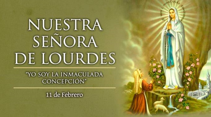 Hoy los católicos celebramos a la Virgen de Lourdes