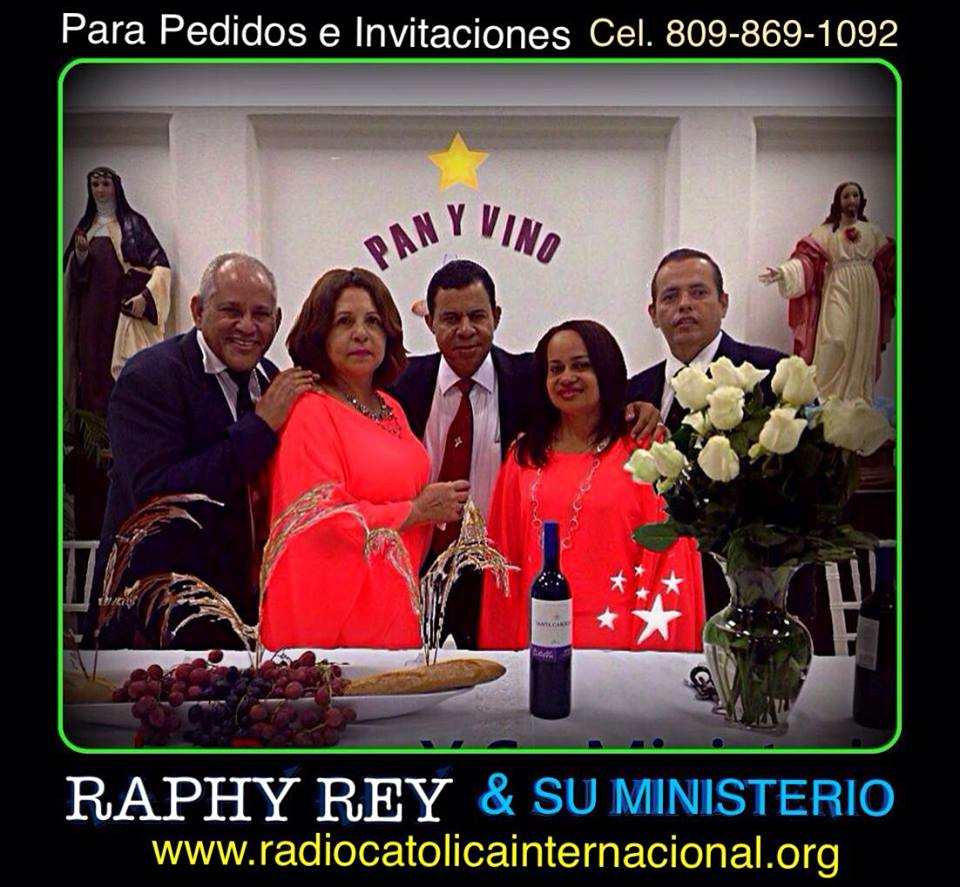 raphyrey y su ministerio anunciando el reino