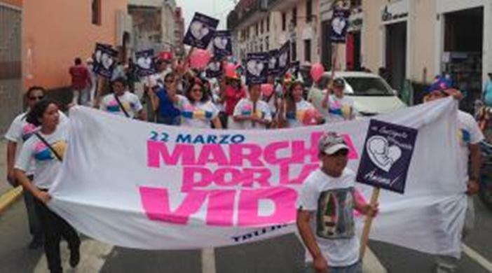 PERU: Jóvenes organizan nueva edición de la Marcha por la Vida