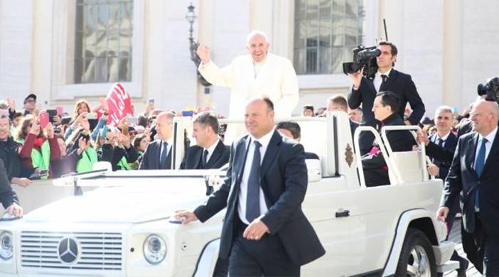 El Papa en la Audiencia Jubilar