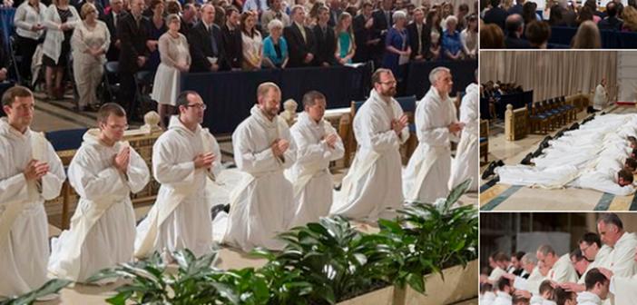 Conoce al grupo más grande de sacerdotes dominicos ordenados en 45 años