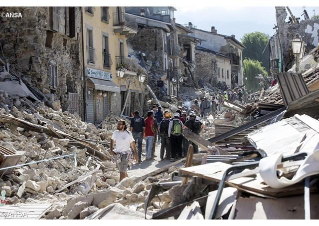 Cercanía del Papa y de toda la Iglesia ante el terremoto que asoló el centro de Italia