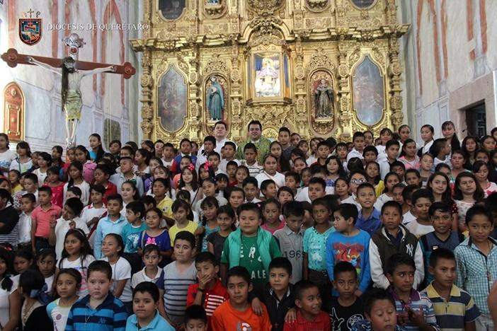 Los Juniperitos en México, niños misioneros como San Junípero Serra