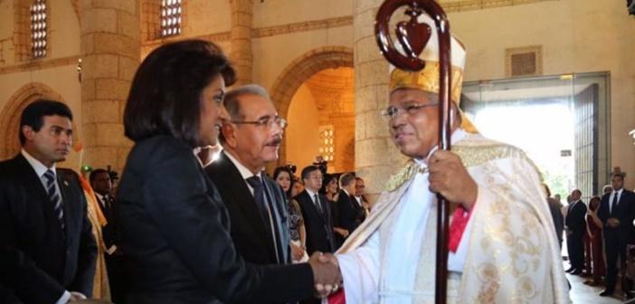 Monseñor Francisco Ozoria toma posesión como arzobispo de Santo Domingo