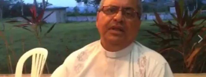 Monseñor Benito Angeles, se solidariza con nuestro proyecto de La Evangelización, por medio de Radio Catolica Internacional