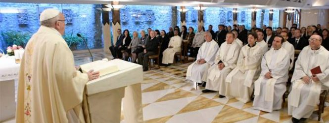 Papa Francisco advierte contra aquellos que convierten la doctrina en ideología